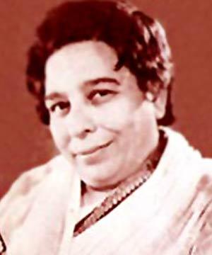 Singer Shamshad Begum